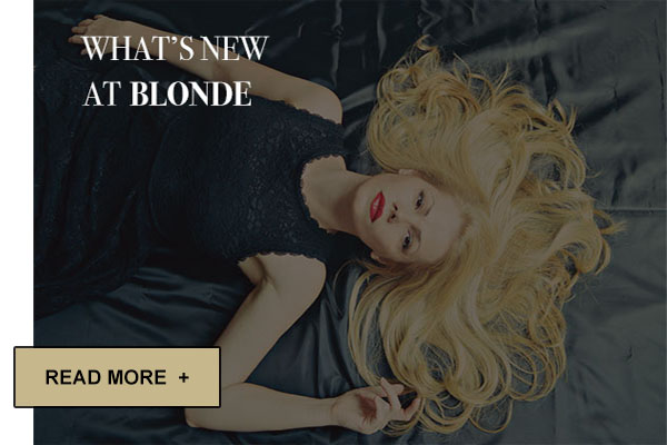 news blonce escorts